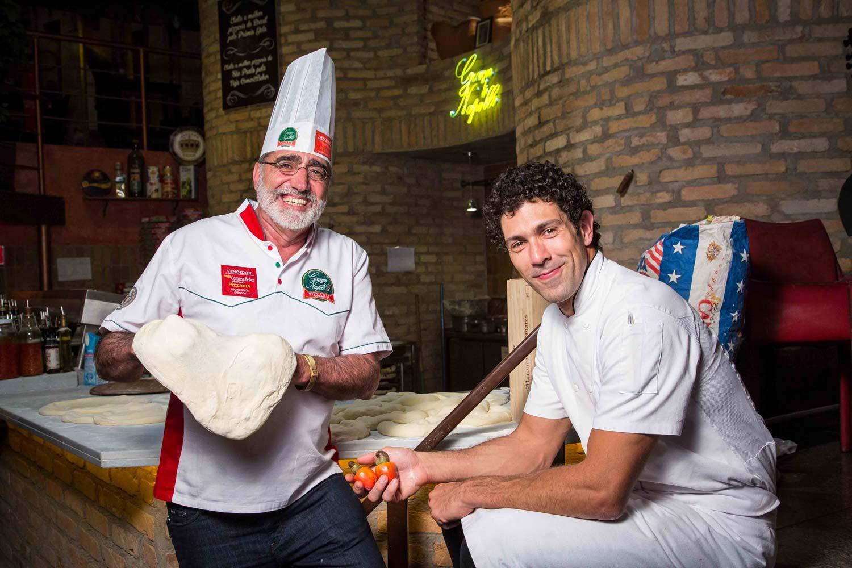 Graça di Napolli serve pizzas assinadas pelo chef Rodrigo Oliveira